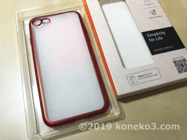 TORRASのiPhone8ケースの開封