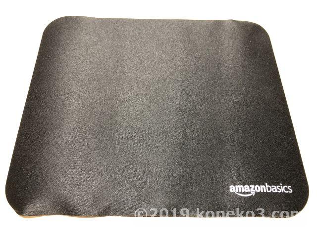 Amazonベーシックのマウスパッド
