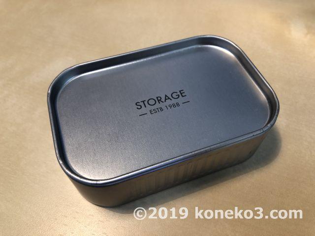 セリアのブリキ缶