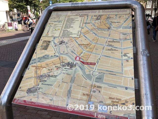 街中の地図