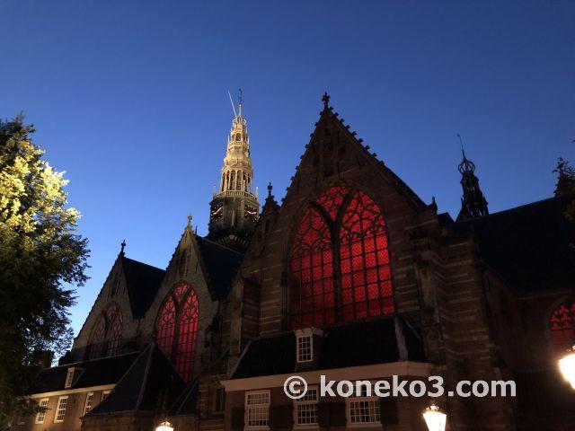 夜の旧教会
