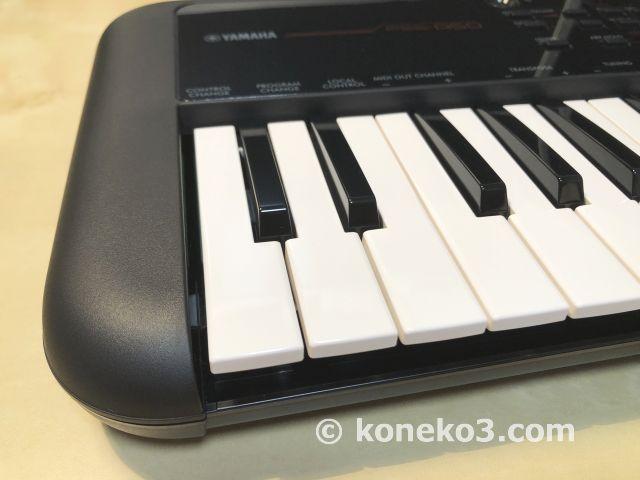 質感の高いキーボード