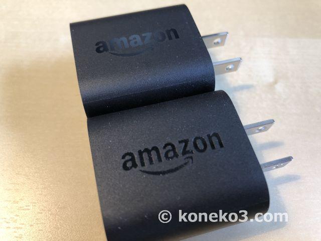 USB電源アダプタの比較