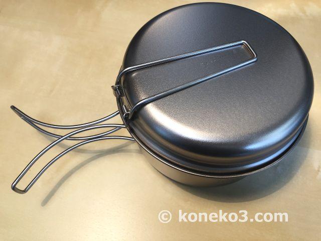 クッカーLのフタとお鍋