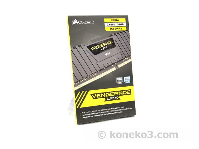 DDR4-2666MHz VENGEANCE LPX