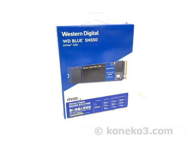 WD NVMe M.2 SSD 500GB