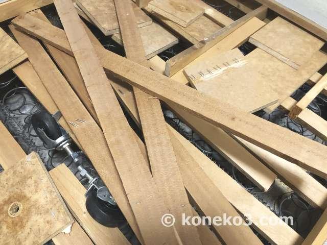 除去した木材