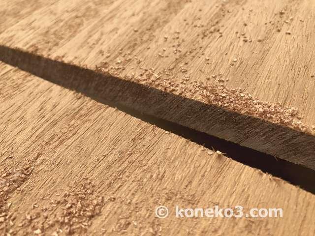 木材の綺麗な切断面