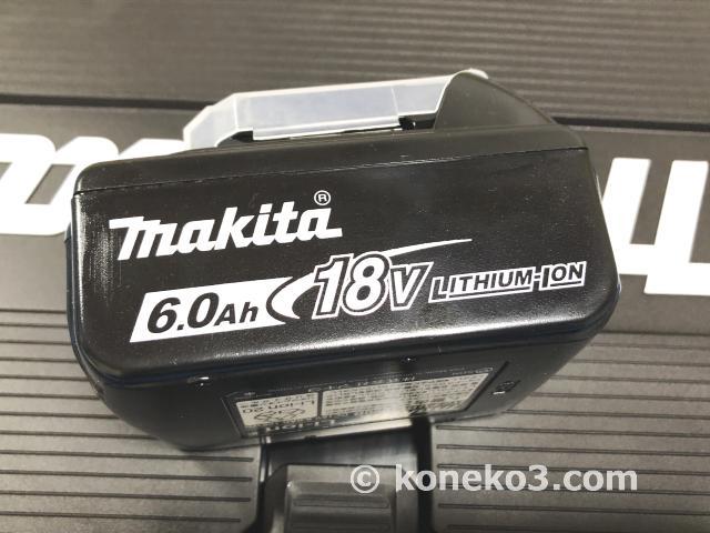 マキタ純正18V6.0Ahバッテリー