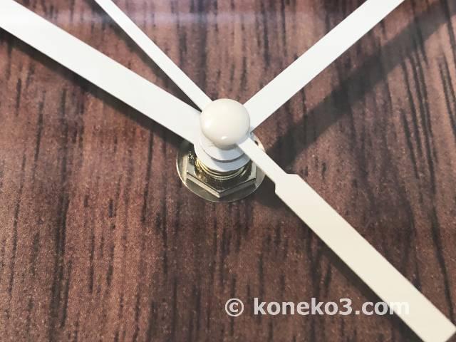 針の軸部分