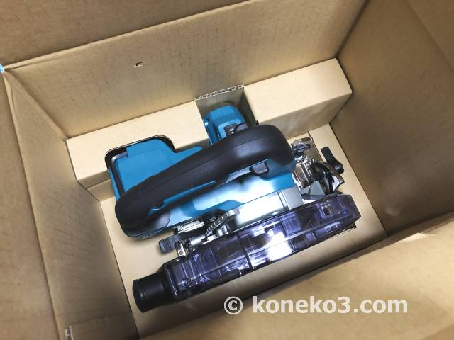 KS511DZの梱包状態2
