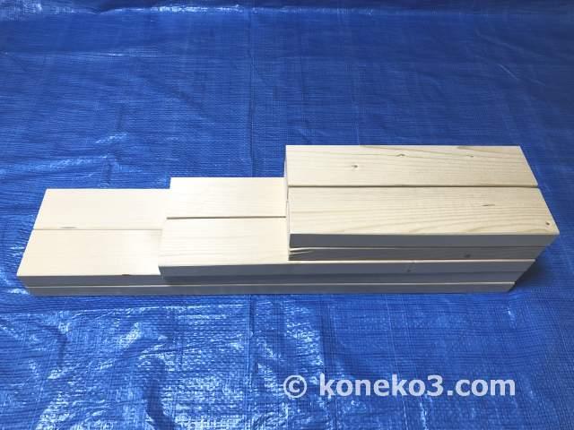 2×4材で作る簡易作業台