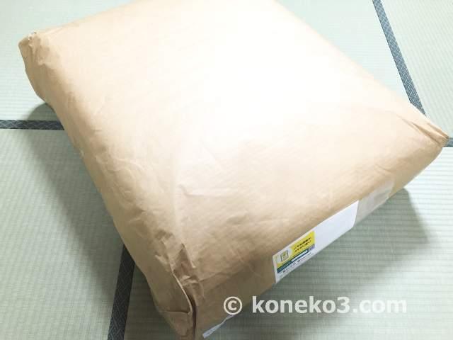 敷き布団の梱包