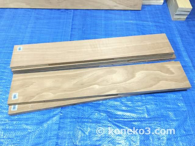 ランバーコア合板の端材