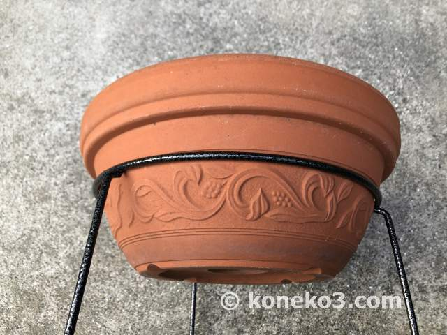 鉢の外径サイズに注意