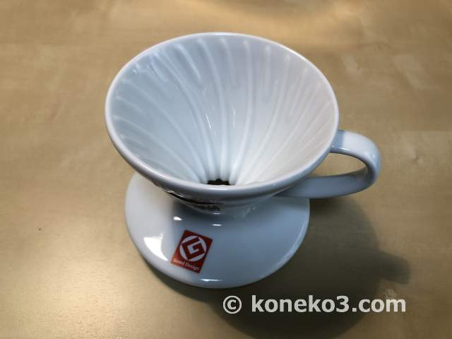 陶器製のドリッパー